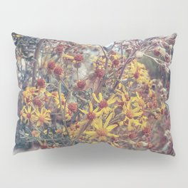 Vintage Flowers Pillow Sham