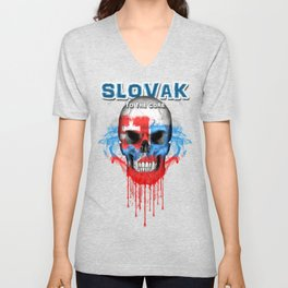 To The Core Collection: Slovakia Unisex V-Neck