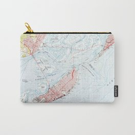 Vintage Map of Ocean City NJ (1952) Carry-All Pouch