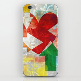 A heart and arrows iPhone Skin