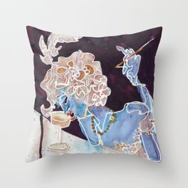 CHAMPAGNE FEMME Throw Pillow