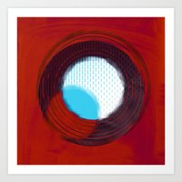 aperture Art Prints featuring aperture 2 by Ricochet  Elm  Studio