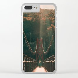 Taiwan bridge Clear iPhone Case