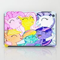 my little pony iPad Cases featuring My Little Pony by Maranda Rae