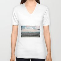 ford V-neck T-shirts featuring (tom) Ford by gooddayallnight