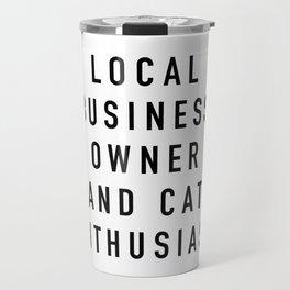 Cat Enthusiast Travel Mug