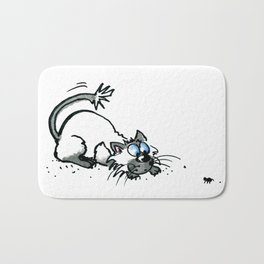 Scaredy Cat Bath Mat