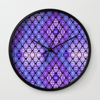 kilim Wall Clocks featuring Kilim by EllaJo