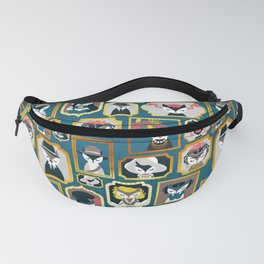 Cats wall of fame Fanny Pack