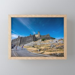 Rock of Cashel, Ireland Framed Mini Art Print