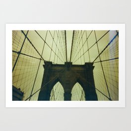 walking symmetry Art Print