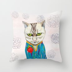 Mr. Talisman Throw Pillow