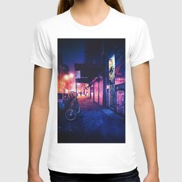 Lower East Side - Night on Rivington Street T-shirt