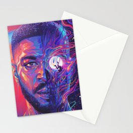 KidCudi Kid Man on the Moon Cudii Kid Cudii Poster Man on the Moon Stationery Cards