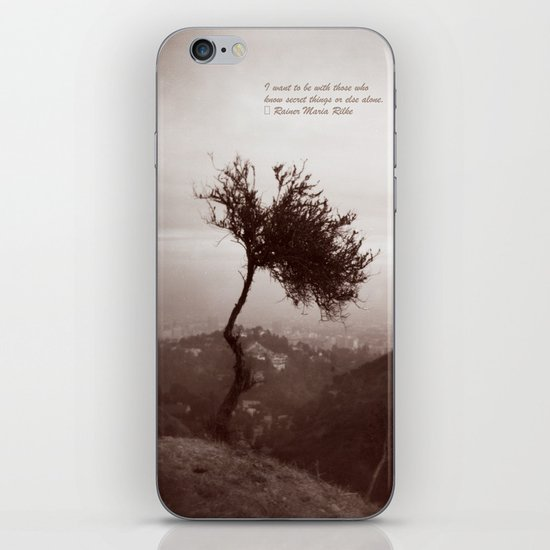 Lonely Tree iPhone & iPod Skin