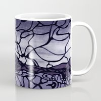 cracked Mugs featuring Cracked by Mel Moongazer