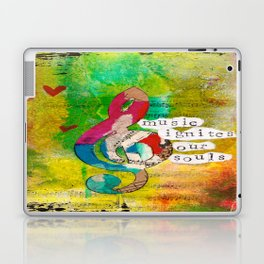 Music Ignites Our Souls Laptop & iPad Skin