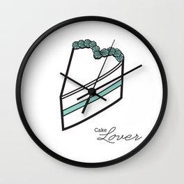 Cake lover Wall Clock