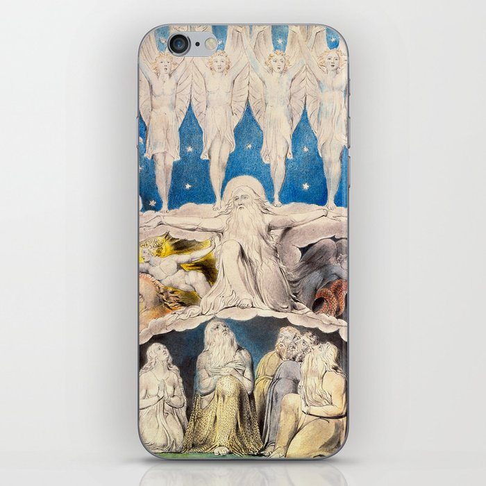 William Blake - When the Morning Stars Sang Together, 1804 iPhone Skin