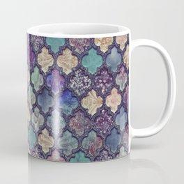 Moroccan Tile Design In Retro Colors Coffee Mug