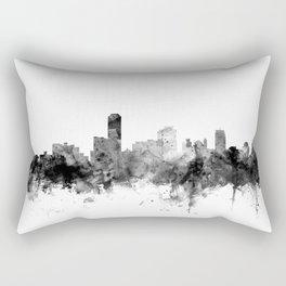 Adelaide Australia Skyline Rectangular Pillow