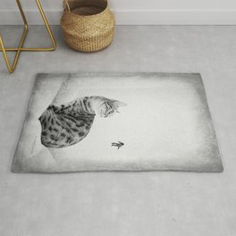 Space Meow 1 Rug