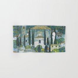 Gustav Klimt - Church in Cassone Hand & Bath Towel
