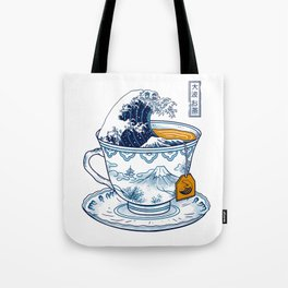 The Great Kanagawa Tee Tote Bag