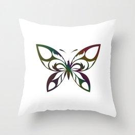 Butterfly 393 Throw Pillow