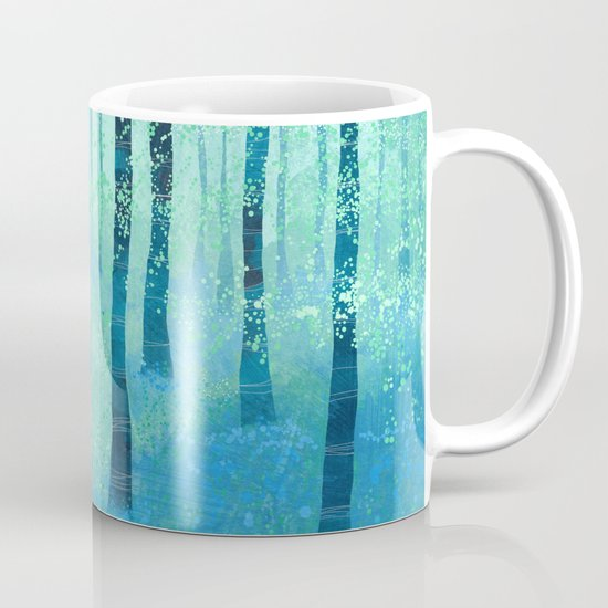 Bluebells, Challock Coffee Mug