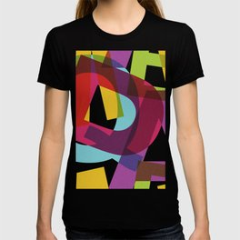 Crossletters Patterns T-shirt
