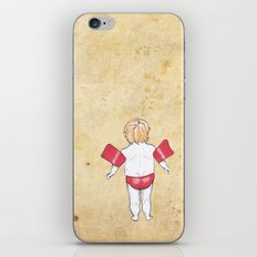 Would the next Michael Phelps please stand up? iPhone Skin