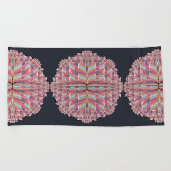 pinkwave (Extended) Beach Towel