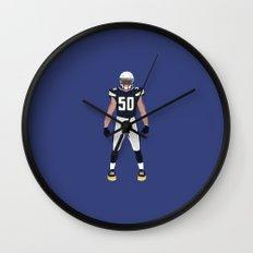 Bolt Up - Manti Te'o Wall Clock