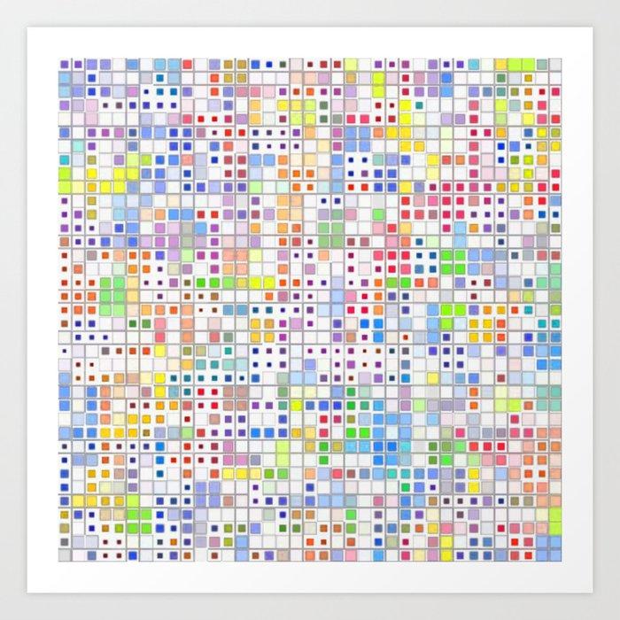 Mosaic #9 Art Print