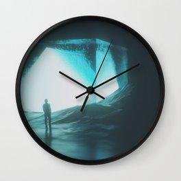 Tesseract Wall Clock