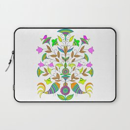 Flowers and Birds Laptop Sleeve