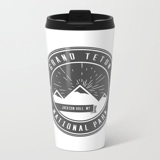 Grand Teton National Park Metal Travel Mug