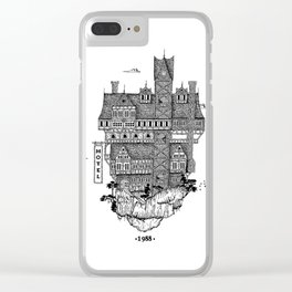 Hotel mountain Clear iPhone Case