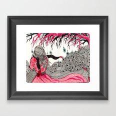 Wind Framed Art Print