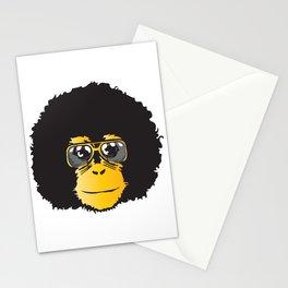 Monkey Retro Stationery Cards