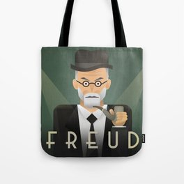 Freud Psychoanalyse Meister Tote Bag