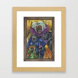 Simian Sirens Framed Art Print