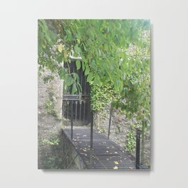 Secret Castle Gateway Metal Print
