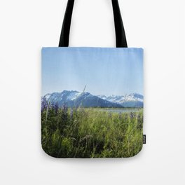 Along the Seward Highway, No. 1 Tote Bag