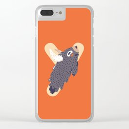 Y for Yak Clear iPhone Case