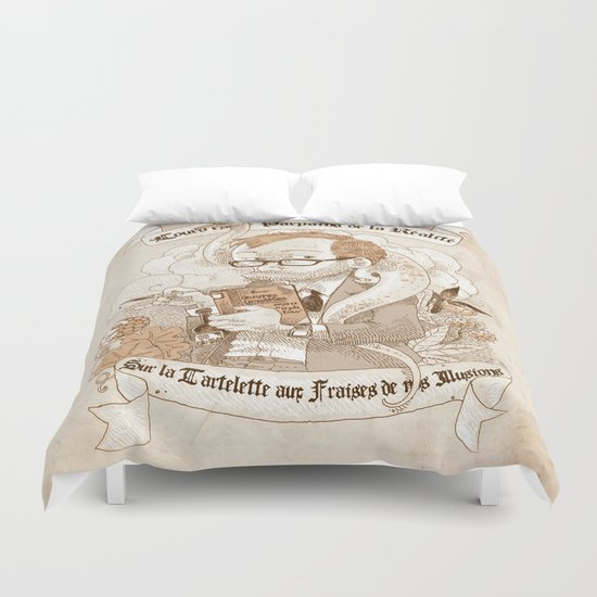 Autoportrait Duvet Cover
