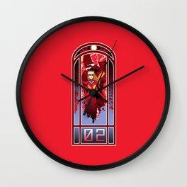 Eva Nouveau 02 Wall Clock