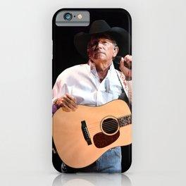George Strait in Vegas iPhone Case