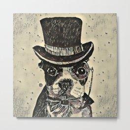 Aristocratic dog Metal Print